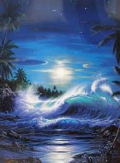 Maui Moon II 1993 AP Limited Edition Print by Christian Riese Lassen