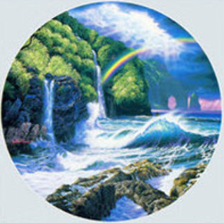 Falls of Hana 1992 Maui Limited Edition Print by Christian Riese Lassen