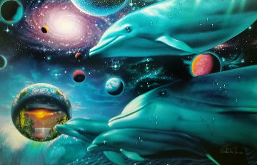 Cosmic Voyagers AP Limited Edition Print by Christian Riese Lassen
