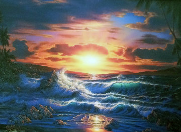 Island Romance AP 1993 Limited Edition Print - Christian Riese Lassen