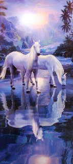 Peaceful Moment 2001 Limited Edition Print by Christian Riese Lassen