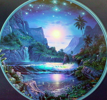 Tranquil Moment 2000 w Diamonds Limited Edition Print by Christian Riese Lassen