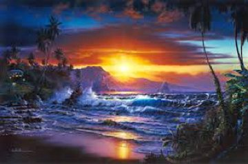 Maui Daybreak AP 2001 Limited Edition Print - Christian Riese Lassen