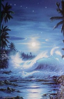 Maui Moon II 2004 Limited Edition Print by Christian Riese Lassen