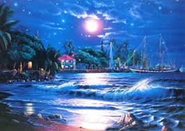 Lahaina Starlight 1993 Limited Edition Print by Christian Riese Lassen