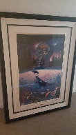 Whale Star  Limited Edition Print by Christian Riese Lassen - 2