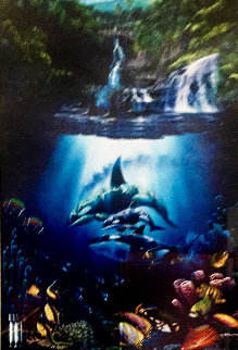 Sacred Pools 1994 Limited Edition Print by Christian Riese Lassen