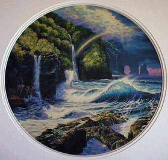 Falls of Hana AP 1992 Limited Edition Print - Christian Riese Lassen