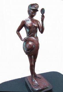 Choices Bronze Sculpture 30 in Sculpture - Laurie Smith