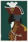 General Toussaint l'overture AP 1986 Limited Edition Print - Jacob Lawrence