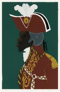 General Toussaint l'overture AP 1986 Limited Edition Print - Jacob Lawrence