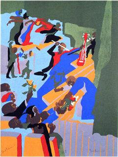 Grand Performance 1993 26x20 Limited Edition Print - Jacob Lawrence