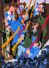 Revolt on the Amistad AP 1989 Limited Edition Print by Jacob Lawrence - 0