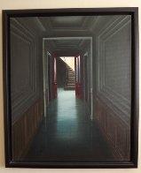 Visite Surprise 2002 30x25 Original Painting by Claude Lazar - 1
