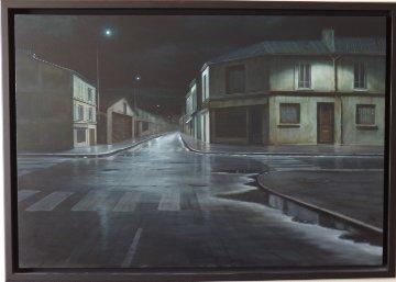 Nuit D'Ivresse 2005 33x53 Original Painting - Claude Lazar