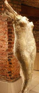 Nike Hips Bronze Sculpture 1990 23x78life Size Sculpture - Lewon Lazarew