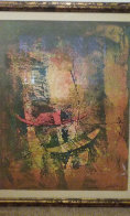 Untitled (Two Boats) Limited Edition Print by  Lebadang - 1