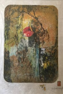 Propos De Fleurs 1977 Limited Edition Print -  Lebadang