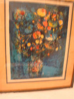 Vase with Flowers Limited Edition Print by  Lebadang - 1