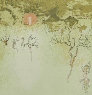 La Lune Rouge et l'Hiver 1982 Limited Edition Print -  Lebadang
