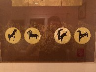 Golden Horses 1979 Limited Edition Print by  Lebadang - 3