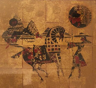 Golden Horses 1979 Limited Edition Print by  Lebadang - 0