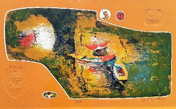 Bord Du Lac I 2000 Limited Edition Print by  Lebadang