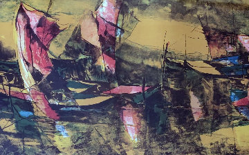 Untitled Print 1970 Limited Edition Print by  Lebadang
