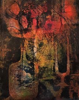 Bouquet AP  2005 Limited Edition Print -  Lebadang