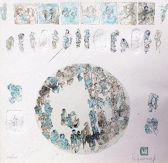 La Comedie Humaine #2 1982 Limited Edition Print -  Lebadang