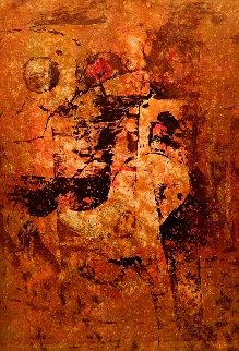 Le Cheval Solitaire Limited Edition Print by  Lebadang