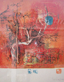 Untitled Lithograph Limited Edition Print by  Lebadang