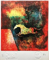 Horse Limited Edition Print by  Lebadang - 1
