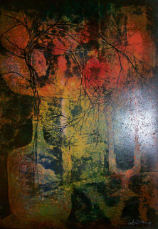 Nature Morte au Chandelier Limited Edition Print by  Lebadang