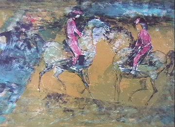 Jockey's 1966 Limited Edition Print by  Lebadang