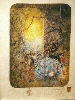 Propos De Fleurs (Suite of 6) 1977 Limited Edition Print -  Lebadang