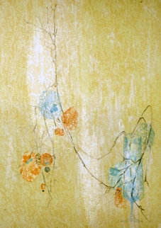 Fleurs D'amour 1983 Limited Edition Print by  Lebadang