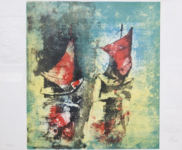 Untitled Lithograph Limited Edition Print -  Lebadang