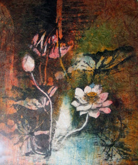 Water Lilies 1978 Limited Edition Print by  Lebadang