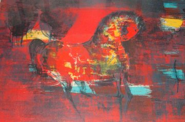 Horse 1960's (Early) Limited Edition Print by  Lebadang
