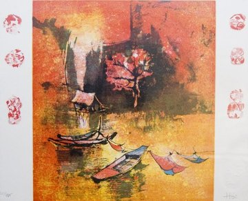 Untitled Lithograph 1995 Limited Edition Print by  Lebadang
