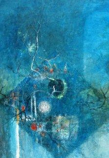 Untitled Watercolor 1988 38x30 Watercolor -  Lebadang