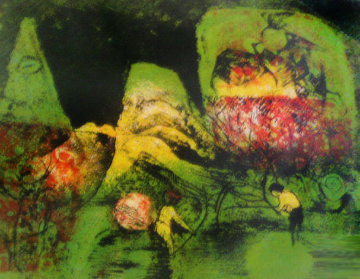 Landscape Limited Edition Print by  Lebadang