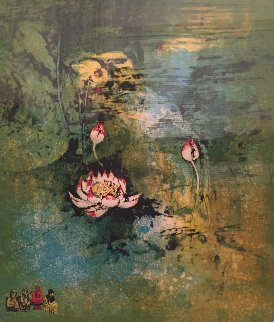 Lotus Limited Edition Print by  Lebadang
