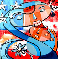 Mother and Child 2013 Limited Edition Print by David Le Batard Lebo - 0