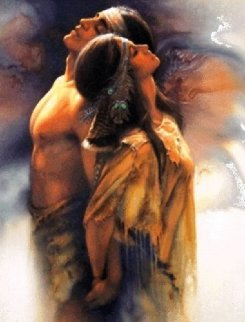 Soul Mates 1995 Limited Edition Print - Lee Bogle