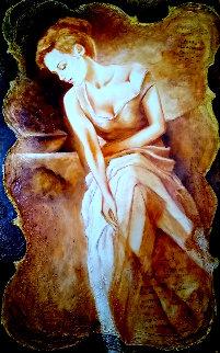 Beautiful Dreamer 60x42 Super Huge Original Painting - Charles Lee