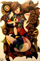 Adam and Eve 2002 Limited Edition Print by Charles Lee - 3