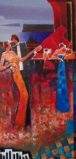 Calypso Beat II 2006 60x36 Huge Original Painting - Charles Lee