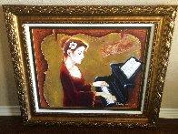 Love of Music 2012 35x41 Super Huge  Original Painting by Charles Lee - 1